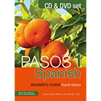 Pasos 1 Spanish Beginner's Course (Fourth Edition): CD and DVD set