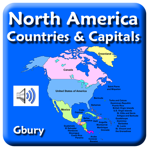 Amazoncom North America Countries And Capital Cities Appstore - World countries and capital cities