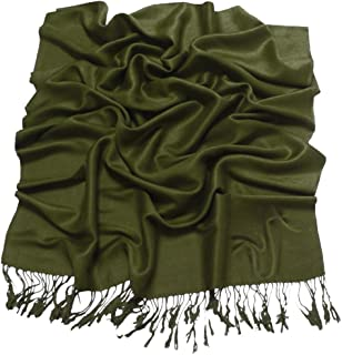 Gold Brown Solid Color Design Shawl Pashmina Scarf Wrap Stole CJ Apparel NEW
