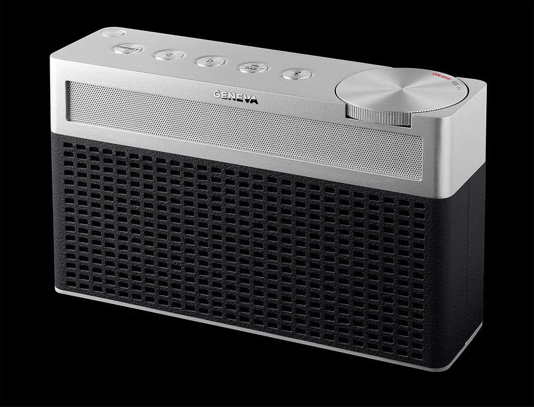 Negro Radio port/átil Geneva Touring//S+ FM//Dab+, Hi-Fi, Bluetooth