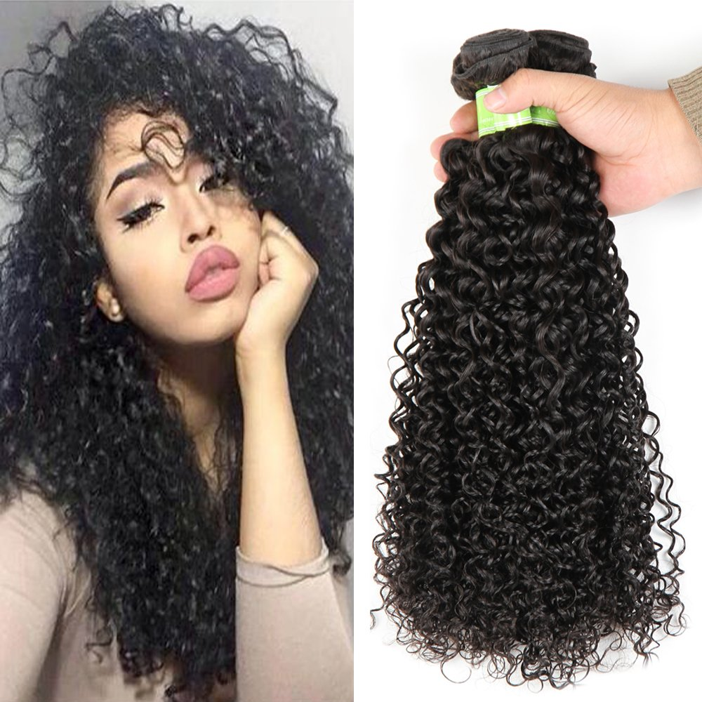Amazon Golden Rule Brazilian Kinky Curly Hair Weave 100 Human