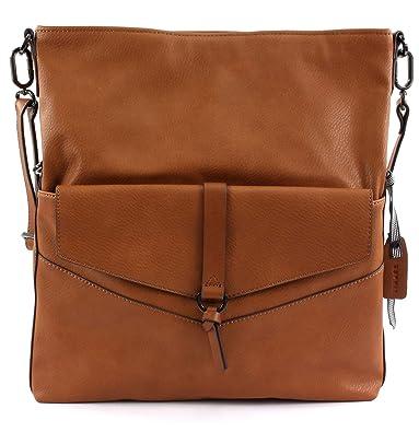 populäres Design hohe Qualität Luxusmode ESPRIT Damen Handtasche Tasche Schultertasche Kara flap ...