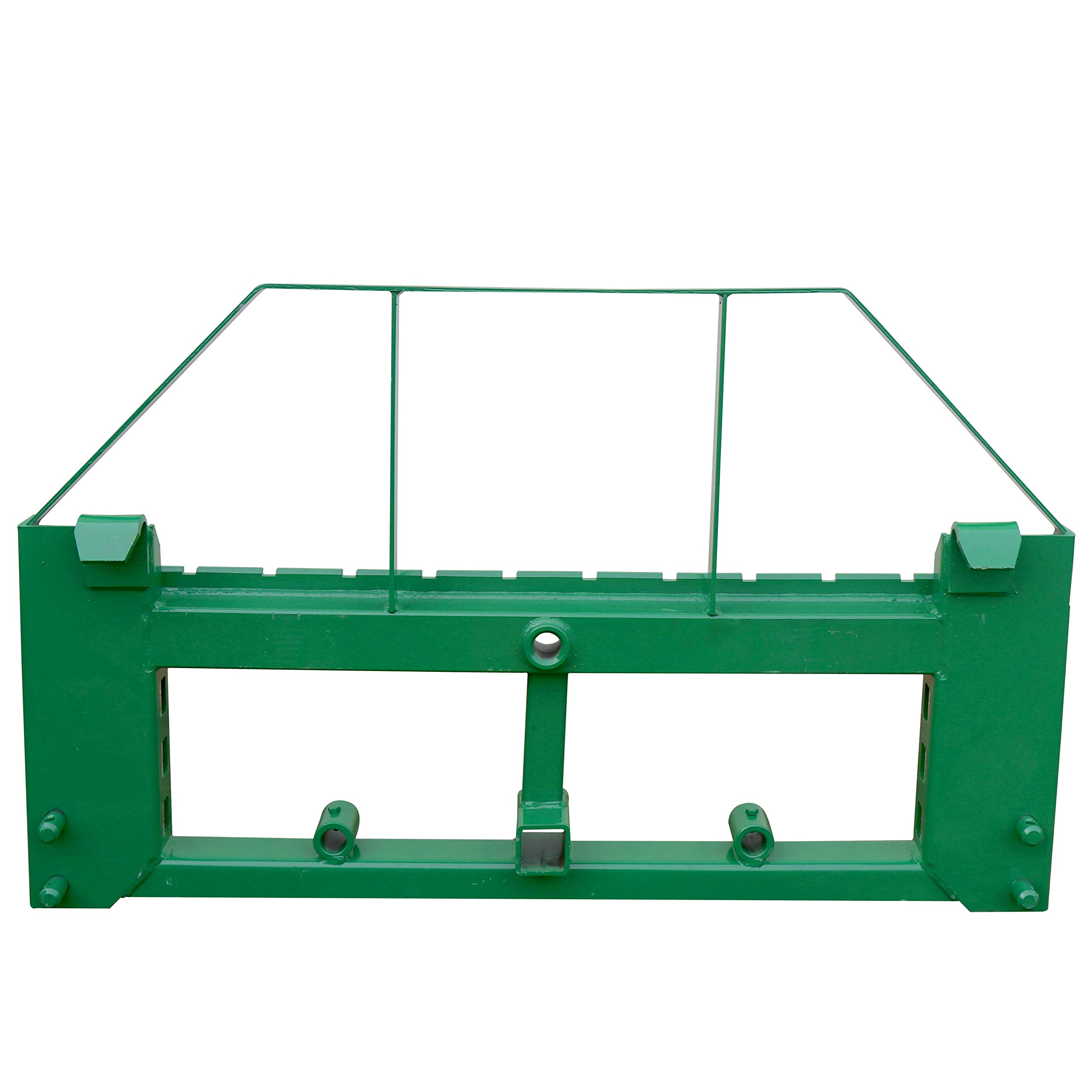 Titan Pallet Fork Frame | Fits John Deere | 2'' Hitch | 48'' Forks | Headache Rack by Titan Distributors Inc.