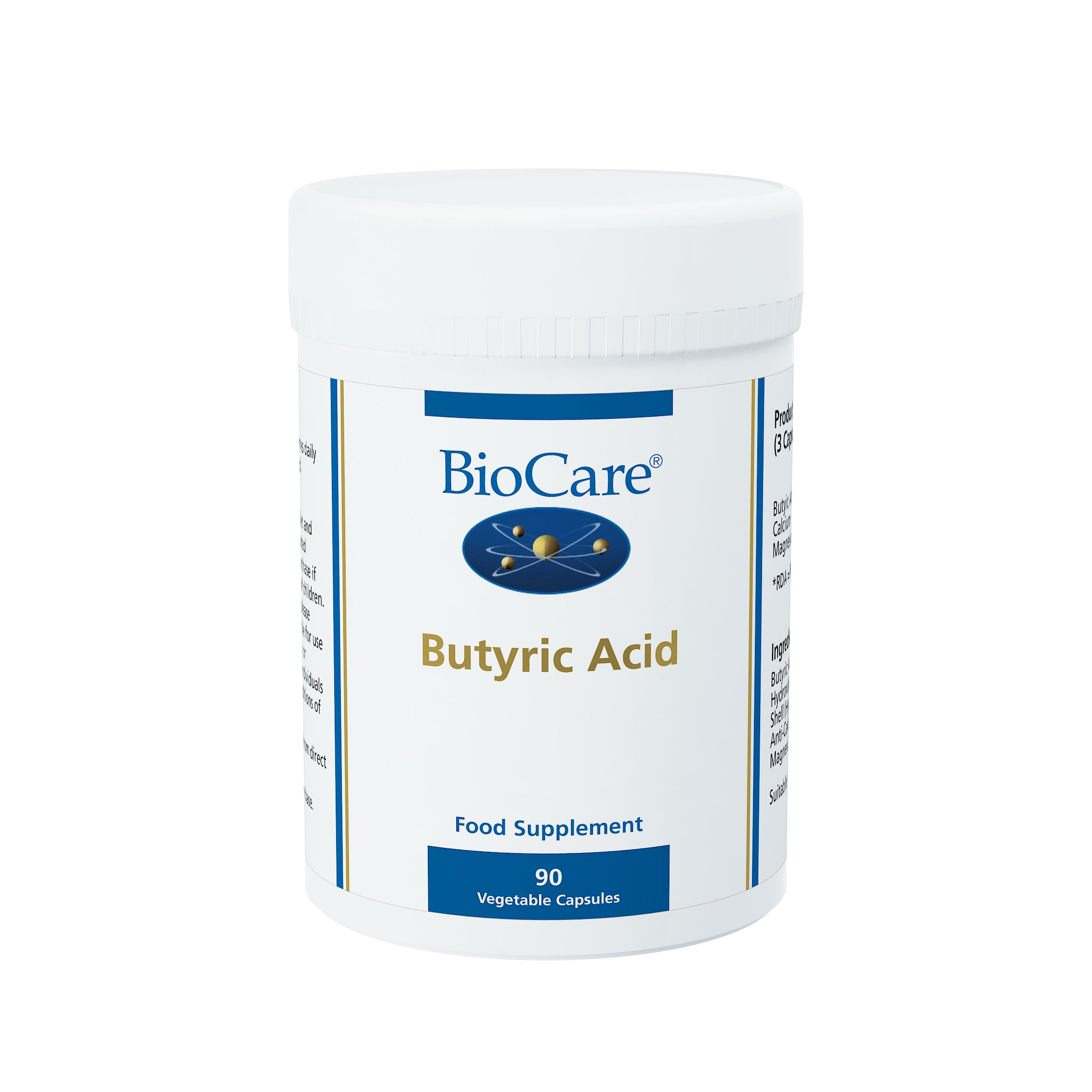 Biocare Butyric Acid Vegetable - Pack of 90 Capsules