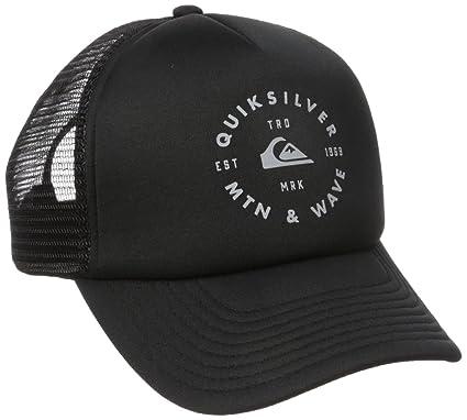 402a1d64087 Quiksilver Mens Foamblast Hat Baseball Cap - Black -  Amazon.co.uk ...
