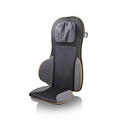 Medisana MC825 88939, Respaldo Masajeador Espalda Shiatsu y Acupresión, masaje independiente espalda (3 modos) + cuello + asiento + cintura , cabezal ...