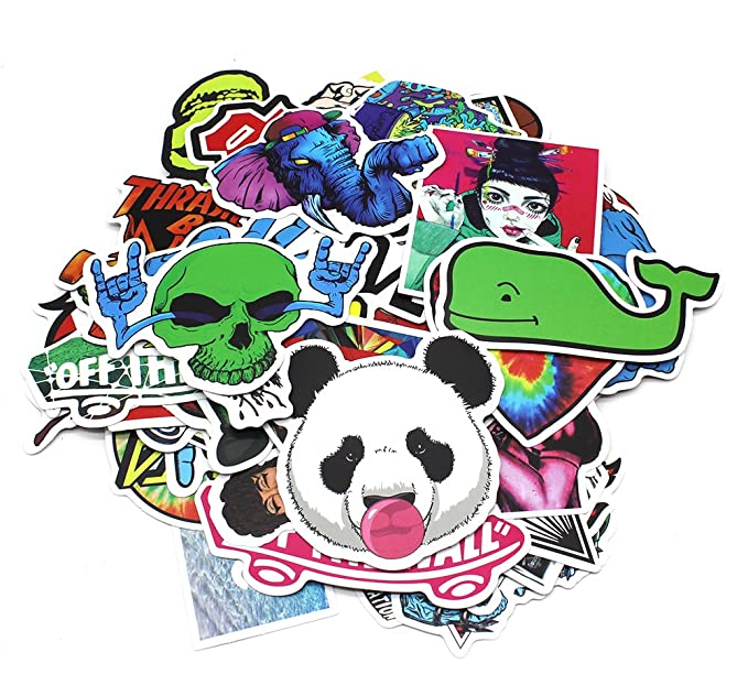 Nuoxinus Adhesivos de vinilo para coche, motocicleta, bicicleta, monopatín, portátil, diseño de graffiti, pegatinas para parachoques: Amazon.es: Coche y ...