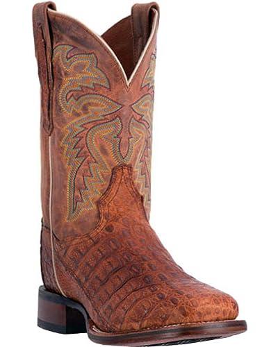 ae20424064b Dan Post Men's Denver Caiman Cowboy Boot Square Toe - Dp3854