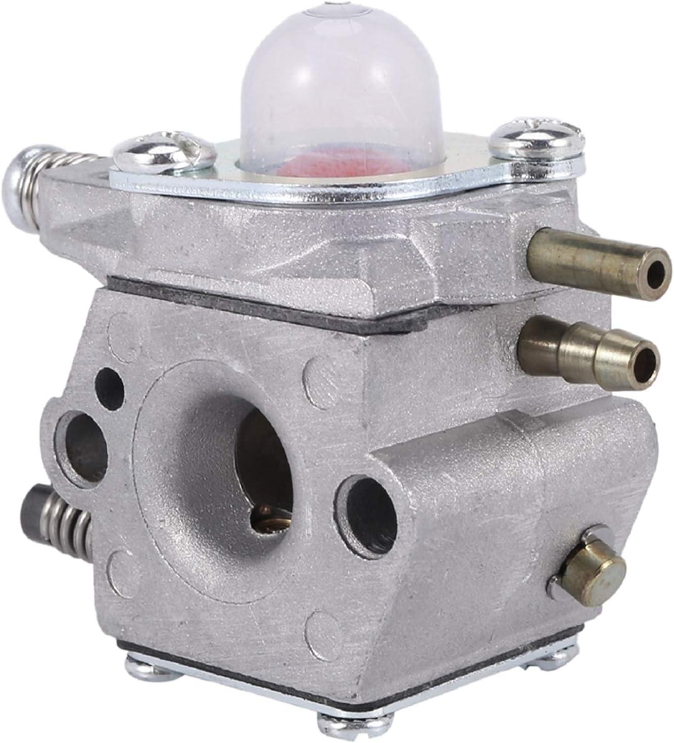 UGUTER Go Kart Carburetor WT460 Carburetor para Emak Oleo Mac EFCO WT460 2318690R 730 735 740 EFCO 8300 8350 8400 8405 Carburador 125cc (Color : Silver)
