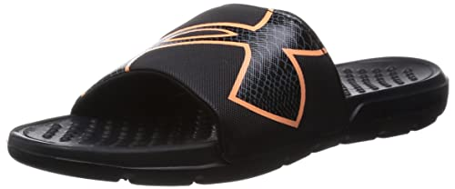 dbb8de26a5 Under Armour Womens UA Strike Rock Slides 8 Black: Amazon.ca: Shoes ...