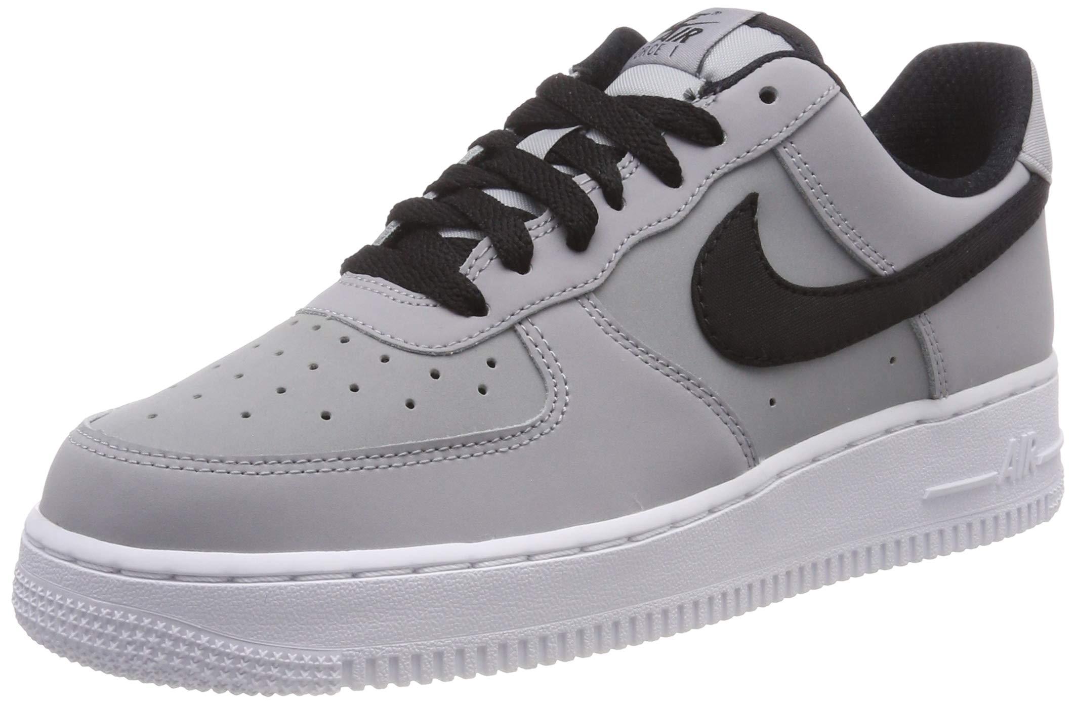 pretty nice 25222 e3446 Galleon - Nike Mens Air Force 1 Low Shoes Wolf Grey Black White AJ9502-001  Size 10.5