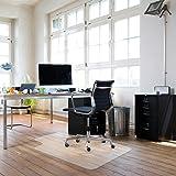 "Sturdy Desk Chair Mat For Hardwood Floors Transparent Non Slip Premium Quality Floor Mat 36"" X 48"""