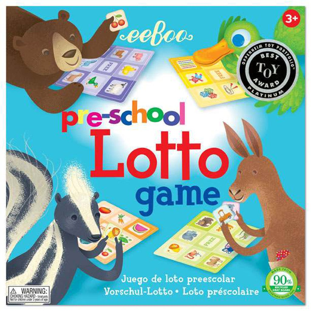 Amazon.com: eeBoo Preschool Lotto Game: Toys & Games