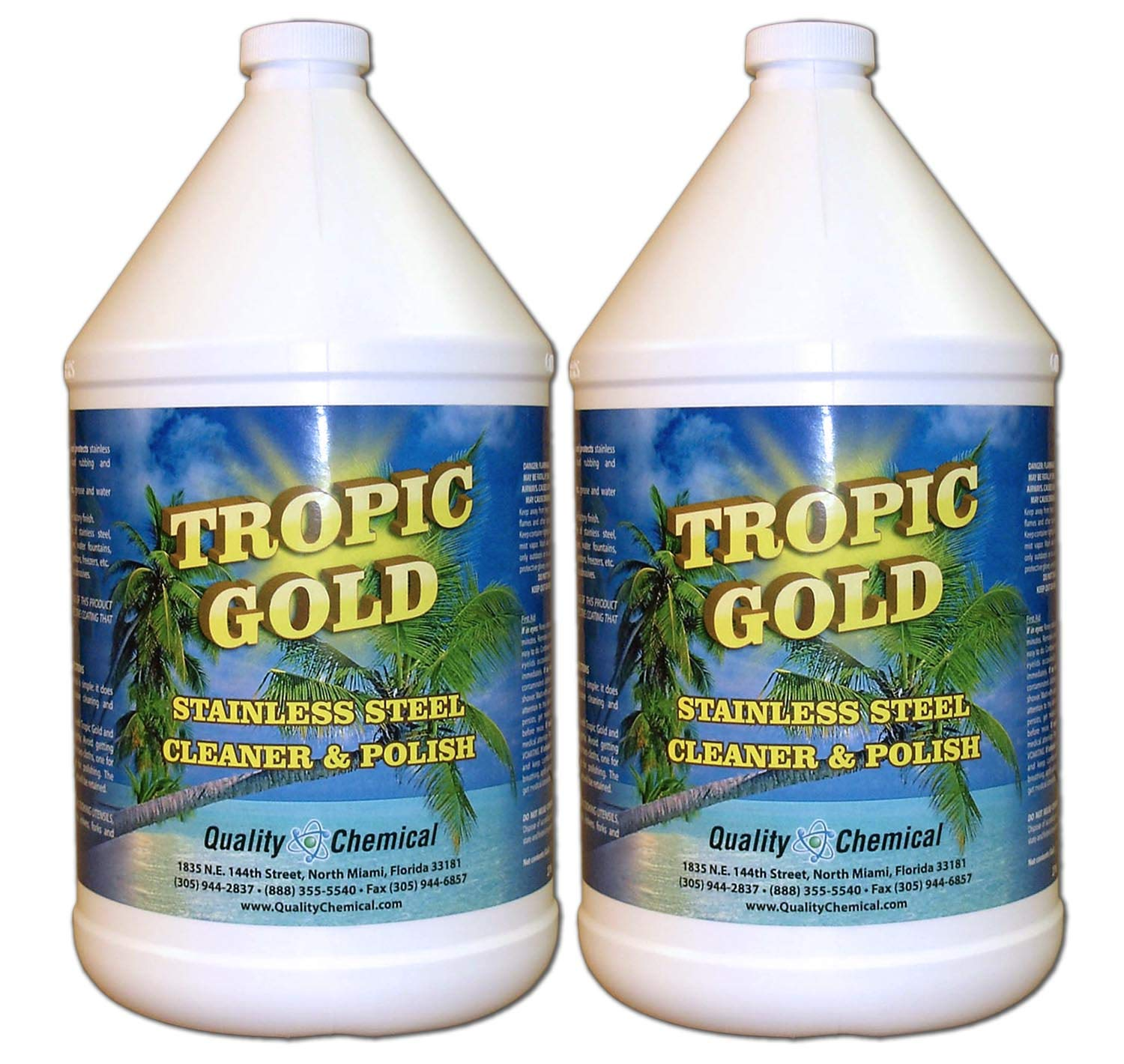 Tropic Gold Stainless Steel Polish-2 gallon case