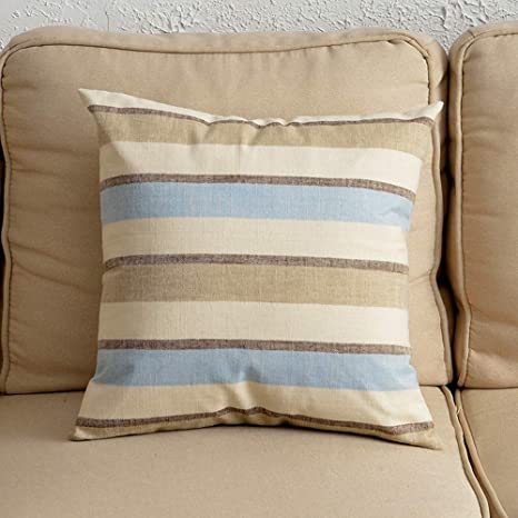 Enjoyable Amazon Com Jyxjjkk Living Room Striped Linen Pillowcase Ocoug Best Dining Table And Chair Ideas Images Ocougorg