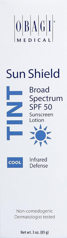 Obagi Sun Shield Tint Broad Spectrum SPF 50 Sunscreen, 3 oz
