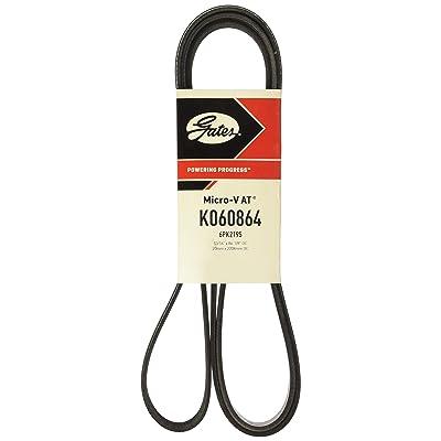 Gates K060864 Multi V-Groove Belt: Automotive