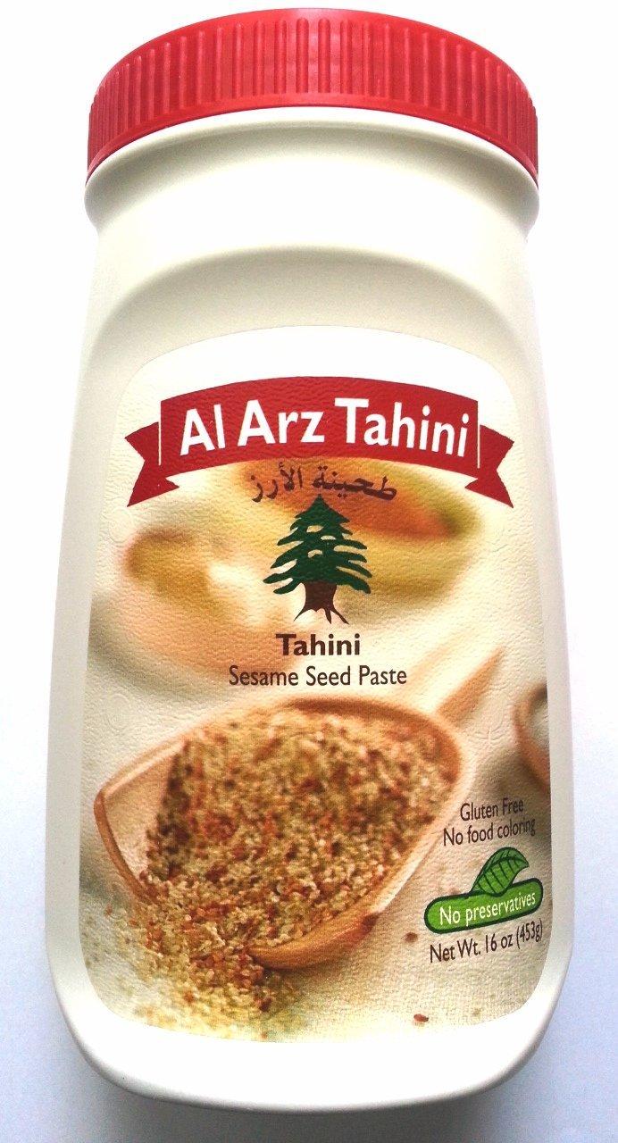 Al Arz 100% Pure Sesame Tahini 71YW2Bg-yYNL