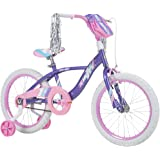 Huffy Kid Bike Quick Connect Assembly Glimmer 16 inch, Purple