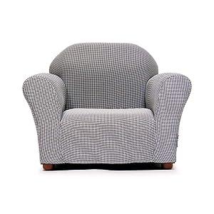 KEET Roundy Kid's Chair Gingham, Brown