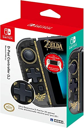 Hori - Controlador D-Pad (L) Zelda (Nintendo Switch): Amazon.es ...