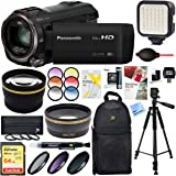 Beach Camera Panasonic HC-V770K HD Camcorder with 64GB Memory Card & Deluxe Filter Accessory Bundle