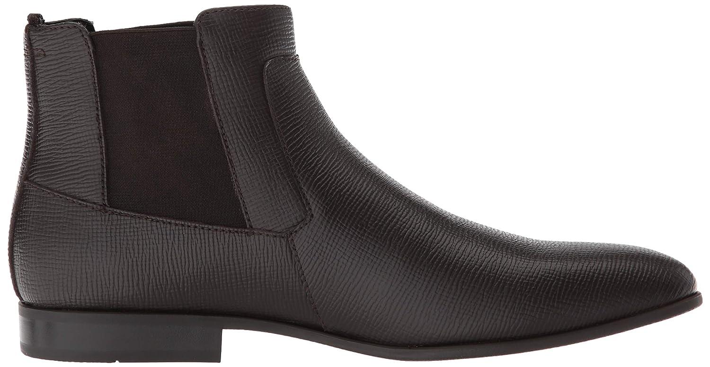 05a60fe480c Calvin Klein Men's Christoff Epi Leather Chelsea Boot
