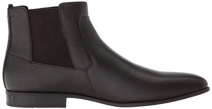 2f448f336a2 Calvin Klein Men's Christoff Epi Leather Chelsea Boot