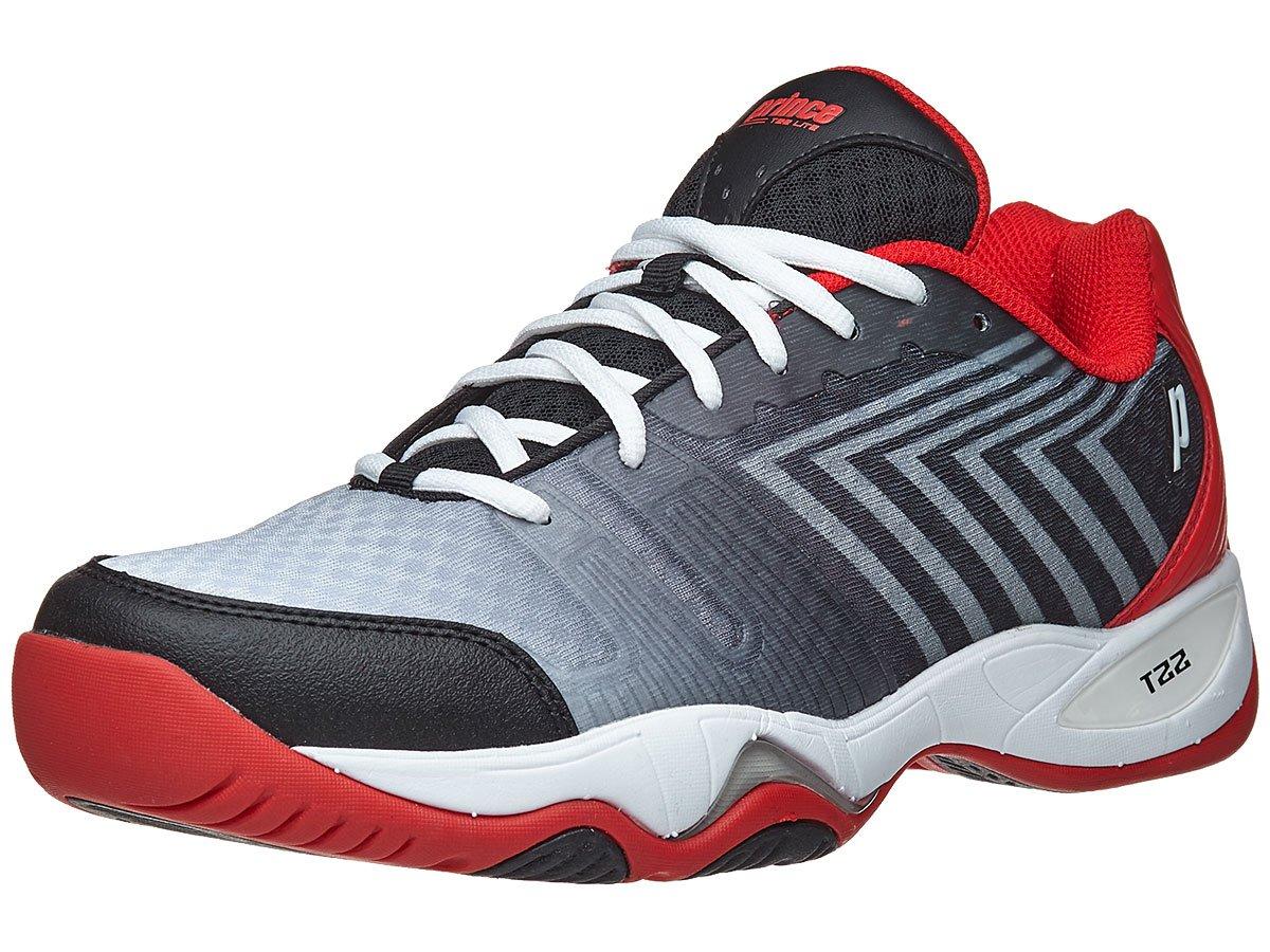 Prince T22 Lite Black/White/Red Men's Shoe