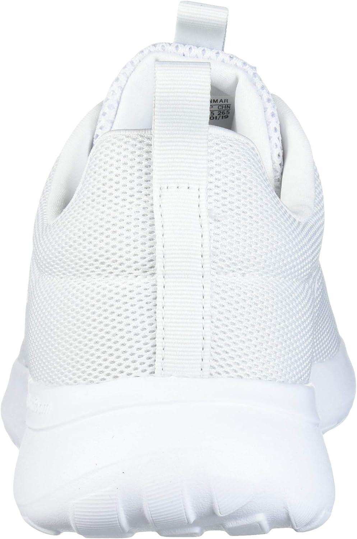 Adidas Lite Racer Cln - Scarpe Da Corsa Donna Due Tessuti Di Colore Bianco Grigio