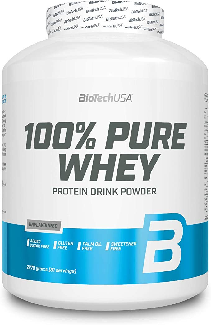 BioTechUSA 100% Pure Whey Complejo de proteína de suero ...