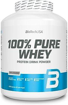 BioTechUSA 100% Pure Whey Complejo de proteína de suero, con ...