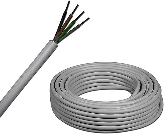 Meterware NYM-J Mantelleitung Elektrokabel Kabel Installationsleitung Leitung