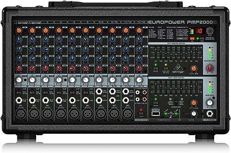Amazon.com: BEHRINGER EUROPOWER PMP2000D.: Musical Instruments