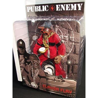 Public Enemy Mezco Toyz Rap Stars Action Figure 's Flava Flav: Toys & Games