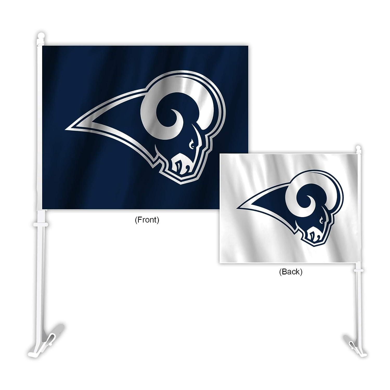 Fremont Die NFL Los Angeles Rams Home & Away Car Flag Fremont Die Inc. 70722