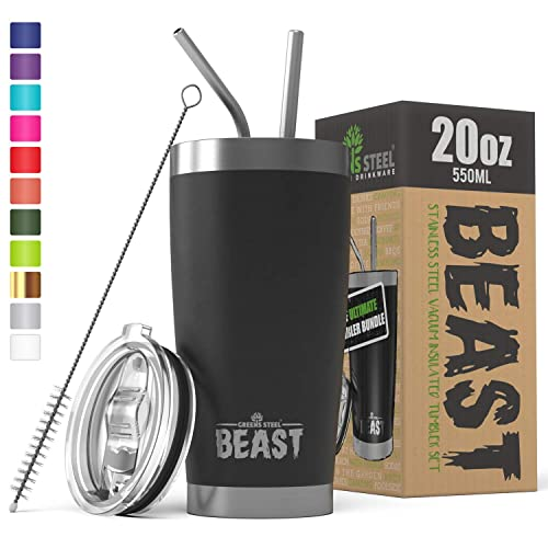 Beast Tumbler Insulates Stainless Steel Coffee Cup