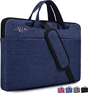 "14-15 inch Laptop Shoulder Bag for Lenovo Flex 14/Lenovo Chromebook S330 14"", DELL XPS 15 9575 9570, HP Stream 14, HP Pavilion X360 14"", Acer Chromebook 14, LG ASUS Dell Lenovo and Most 14 Inch Laptop"