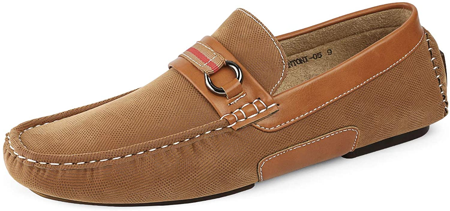 Bruno Marc Men's Penny Loafers Moccasins Shoes