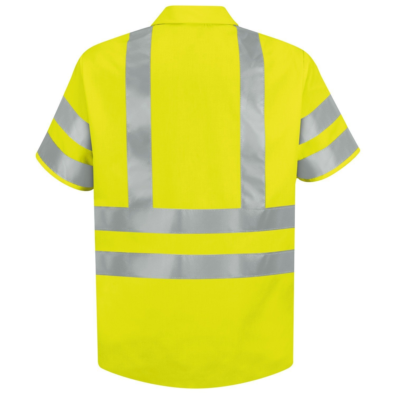 Brite Safety Style 230 Hi Vis Shirt Short Sleeve Safety Shirts