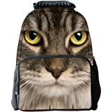 Ohmais Boys Girls Unisex's 3D Vivid Animal Print Personalized Backpacks Fashion School Bags Outdoor Casual Backpack Portable Shoulders Bag