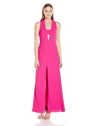 Jill Jill Stuart Women's Cut Out Front Gown