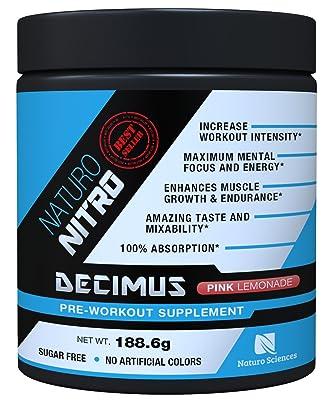 Naturo Nitro Pre-Workout Decimus