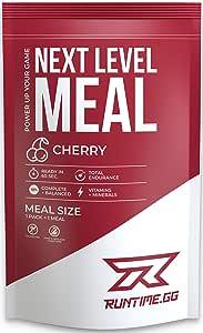 Runtime Meal   Sustituto de las comidas que proporciona saciedad, energía, concentración   25 vitaminas, minerales y nutrientes   150g (Cherry)