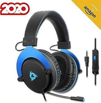 KLIM ™ Rush - Auriculares Gaming + Diadema cómoda y Ajustable + ...