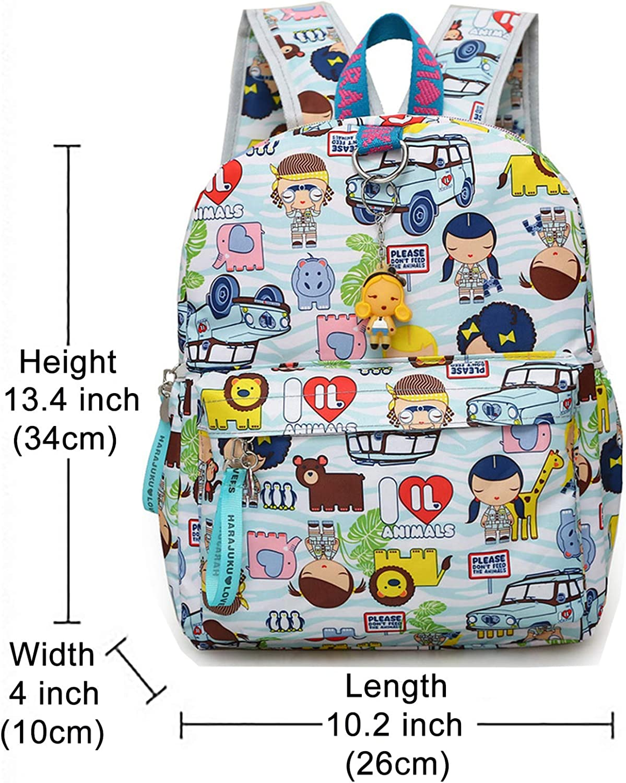 Fang Shan Harajuku Kids Backpack,Nylon Waterproof Mini Bookbag for ...