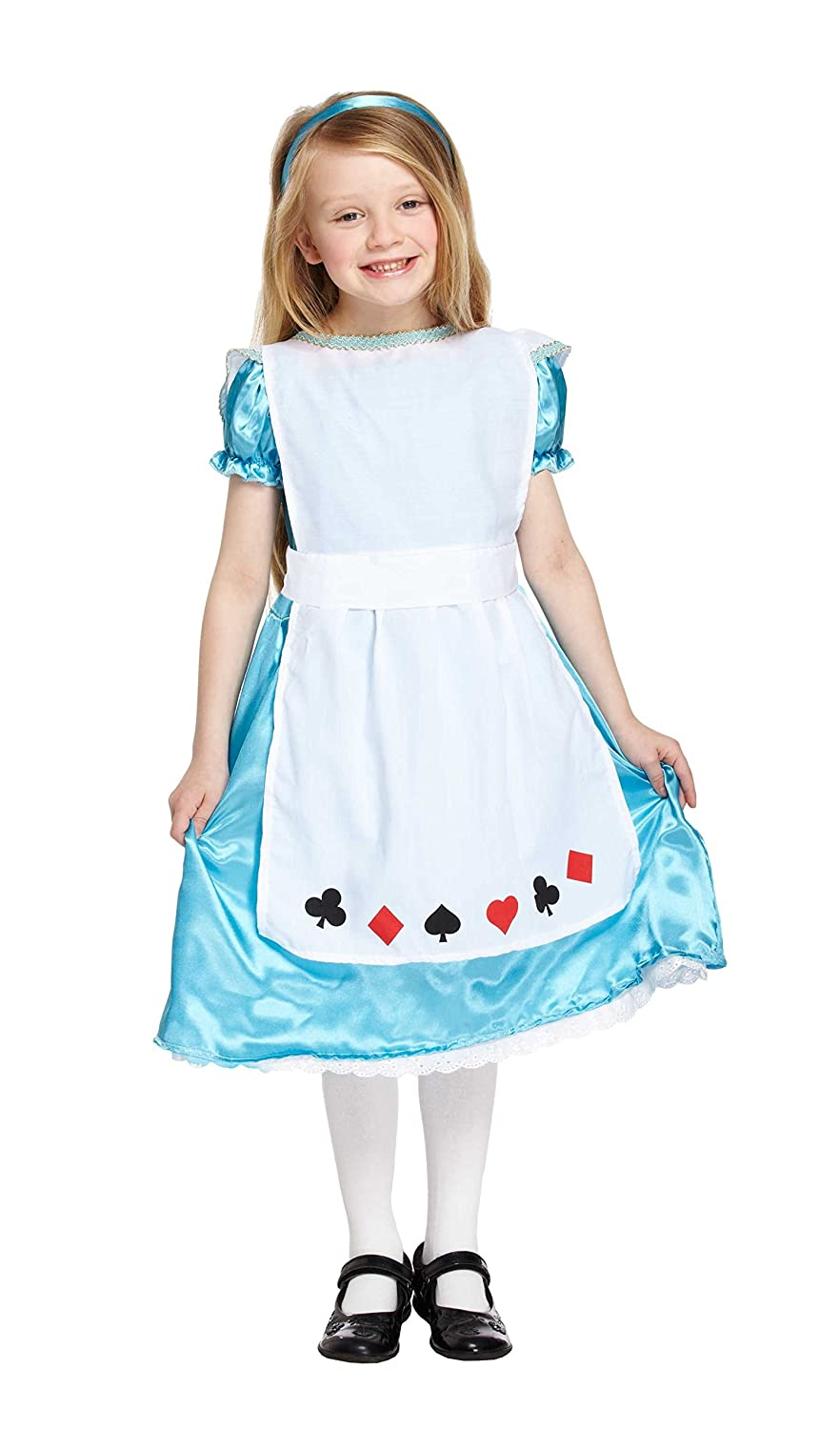 Amazon.com ToyMarket Child Alice Fancy Dress Costume Girls