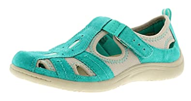 d556eefb5 New Ladies Womens Teal Earth Spirit Wichita Casual Sporty Shoes. - Teal -