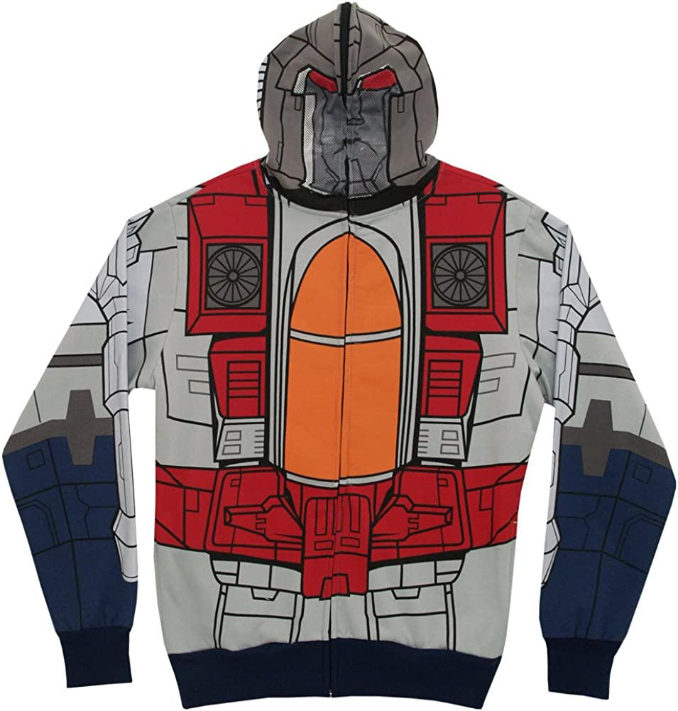 Transformers Mr Scream Costume Zipper Hoodie Sweatshirt XL 71YWFvVP6YLUL1001_