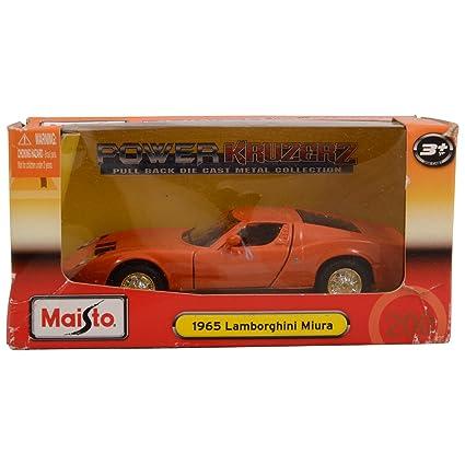 Buy Maisto Power Kruzerz 4 5 Pull Back Action 1965 Lamborghini